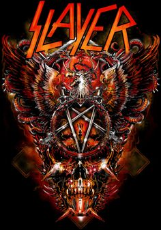 Slayer- Seeing them Saturday can't wait!!
