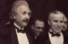 Albert Einstein meets Charlie Chaplin