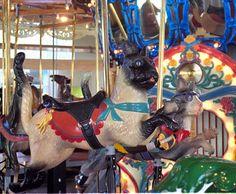 Richland Carrousel Park Carrousel  Carousel Works Cat Jumper