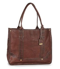 Vintage style Frye campus shopper tote [more at pinterest.com/eventsbygab]