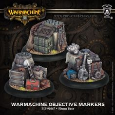 10 Best Warmachine Tokens Templates Images Models Patterns