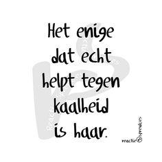 Kaalheid #kaal #humor #flauw