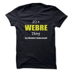 cool New T-Shirts Special Things of Webre