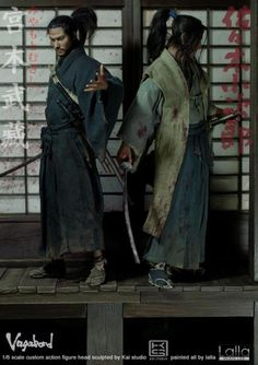 Sasaki Kojiro figure from Inoue Takehiko's Vagabond By Lalla (2)