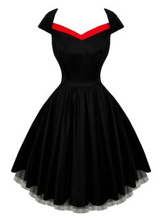 Robe Rockabilly Gothique HR London