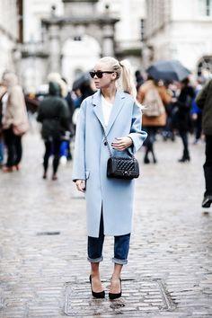 Victoria Tornegren- AW14 London Fashion Week.