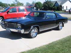 1971 Monte Carlo. This thing would fly.