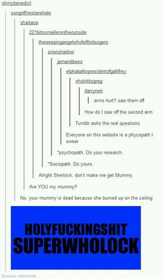 SuperWhoLock! and i got all the references