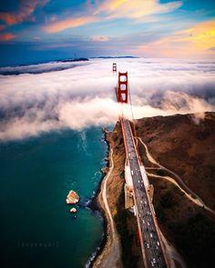 Golden Gate Bridge by Engel Ching by San Francisco Feelings