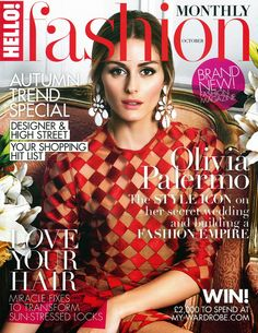 The Olivia Palermo Lookbook : Olivia Palermo For HELLO FASHION Magazine