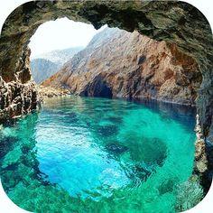 Magical Mykonos. One for the bucket list? #Mykonos #Greece #travel #bucketlist #holidays #sunshine #adventure #holiday #greece #ocean #caves