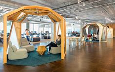 Creative Workspace Environment designed by O+A - InteriorZine