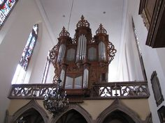Strasbourg, Eglise Saint-Guillaume, Orgue André Silbermann (1728)