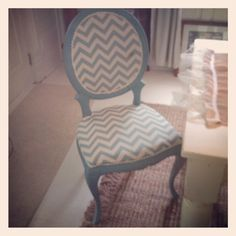 Old chair redo