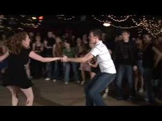 Sooo awesome! I've got to learn these moves with Dan! Tricks & Airsteps for Swing - Dance Clip