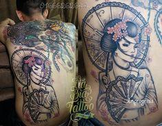 Cover tattoo, sửa hình xăm cũ, che hình xăm, hình xăm đẹp, Na Bia -  Hà Nội.