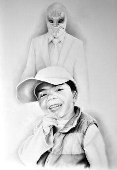 El Sueño del Niño... | Omar Abud Pintor Mexicano