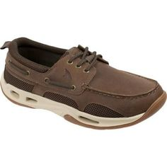 Men's Rugged Shark Tidalwave Boat Shoe Oiled Crazy Horse Nubuck