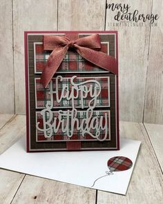 Big Wishes and Buffalo Happy Birthday by Stamps-n-lingers - Cards and Paper Crafts at Splitcoaststampers Bday Cards, Birthday Cards For Men, Handmade Birthday Cards, Male Birthday, Birthday Ideas, Happy Birthday Ecard, Masculine Birthday Cards, Masculine Cards, Happy Birthday Gorgeous