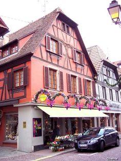 Obernai: Centre d'Obernai - France-Voyage.com #tourismeobernai