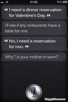 Siri just owned you.