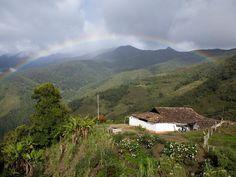Venezuela Photos -- National Geographic. Arco iris en los Andes venezolanos.