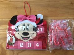 "Minnie Mouse Christmas Advent Calendar 19"" #Disney"