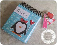 Bloquinho Pinguim - Dia dos Professores