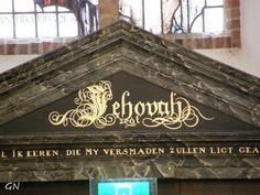 Jehovah Gods naam in Nederland Strijen