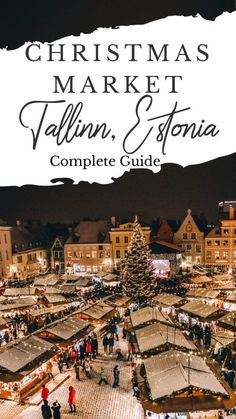 This guide will show you the best way to experience Tallinn's Christmas market as well it's well preserved medieval town. Ultimate Guide to the Tallinn, Estonia Christmas Market #christmas #christmasmarket #tallinn #estonia #europe Best Christmas Markets, Christmas Markets Europe, Christmas Travel, Prague Christmas, Christmas Destinations, Xmas, Europe Destinations, Amazing Destinations, Christmas Time