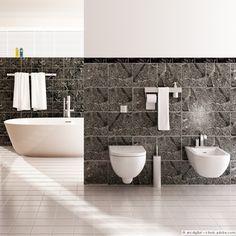 Perfektes Bad mit Traumwanne!  #bathroom #bathroomdesign #interior #Interiordesign #Home #Decor #style #bathroomgoal #Badideen #calmwaters #bathtub #Badewanne #freistehendebadewanne #homedecor #bathinspiration #tiles #wellness #wellnessathome   mehr? https://www.calmwaters.de/badewanne-und-whirlpool/freistehende-badewanne