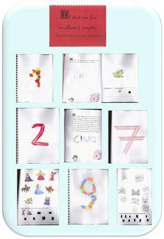 Album à compter PS: thème château, princesses, chevaliers etc... - Math For Kids, Album, Teaching, Education, Frame, Princesses, Blog, Ps, Charlotte
