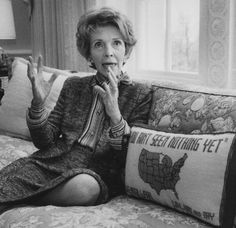 First Lady Nancy Reagan looks back on her last four years in the White House. | UPI.com