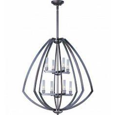 ET2 - Vortex 2 Tier Chandelier $698.00 Lamps.com 31H