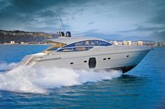 Pershing 64 Yacht Charter, 3 cabins, 6+1 berths. Available in Croatia.