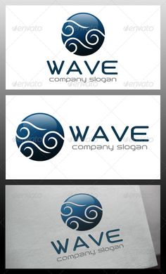 Wave Ball Logo Template — Vector EPS #aqua #swim • Available here → https://graphicriver.net/item/wave-ball-logo-template/5681847?ref=pxcr