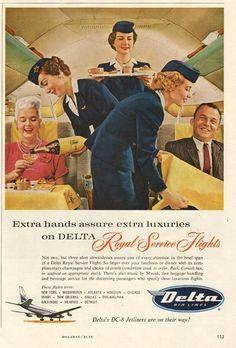 Delta Royal Service Flights