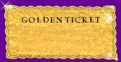blank golden ticket template fire breathing rubber