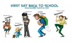 First day back to school