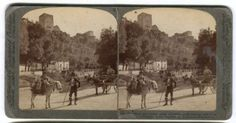 Antique-Vintage-GRANADA-SPAIN-Stereo-Stereoview-Card-Photo-3D