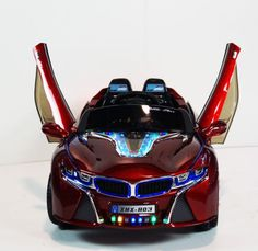Newest-BMW-I8-Style-Ride-on-Car-with-LED-Wheels-Music-Lights-Doors-Remote