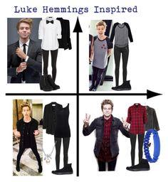 """Luke Hemmings Inspired"" by whitetiger25 ❤ liked on Polyvore"