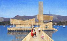 Zurich Manifesta paviljoen - Studio Tom Emerson