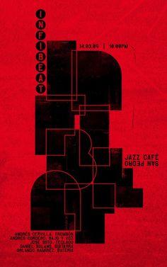 Flyer Goodness: music poster