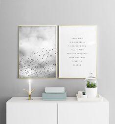 Bird sky, poster