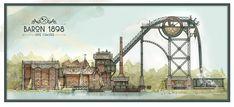 Baron 1898 - Dive Coaster - Efteling (NL) by Sander de Bruijin