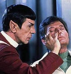 Here Bones, this is an old Vulcan remedy for migraines. Or perhaps it's to make you go insane???