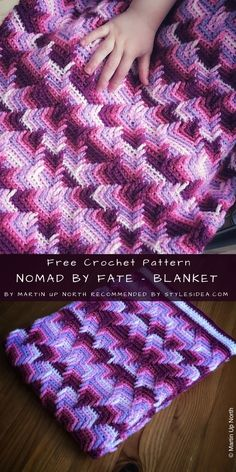 Triangle Wrap Nomad by Fate Free Crochet Pattern Crochet Afgans, Crochet Quilt, Afghan Crochet Patterns, Baby Blanket Crochet, Crochet Stitches, Crochet Blankets, Mobiles En Crochet, Crochet Mobile, Crochet Shawls And Wraps