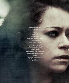 Broken dreams, silent screams Sarah Orphan black