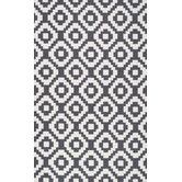 Found it at Wayfair - Heritage Ladi Black Geometric Area Rug